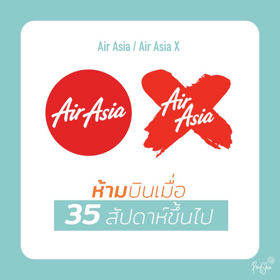 air asia pregnancy rules
