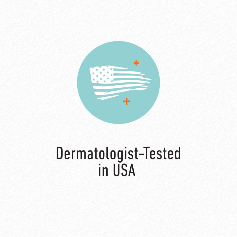 Dermatologist-Tested in USA